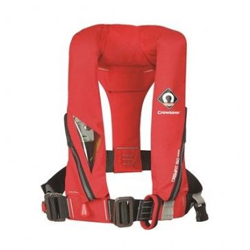 Crewsaver CREWFIT JUNIOR LIFEJACKET AUTO RED 150N
